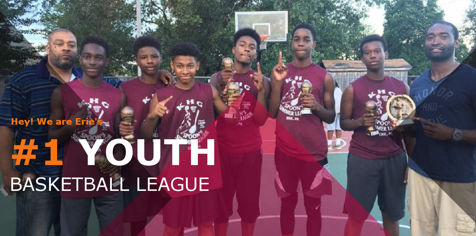 Erie's #1 Youth Basketball League